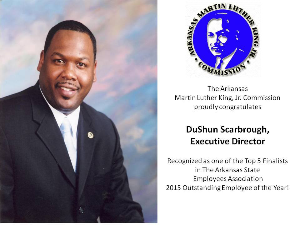 2015 Arkansas State Employee of the Year Finalist