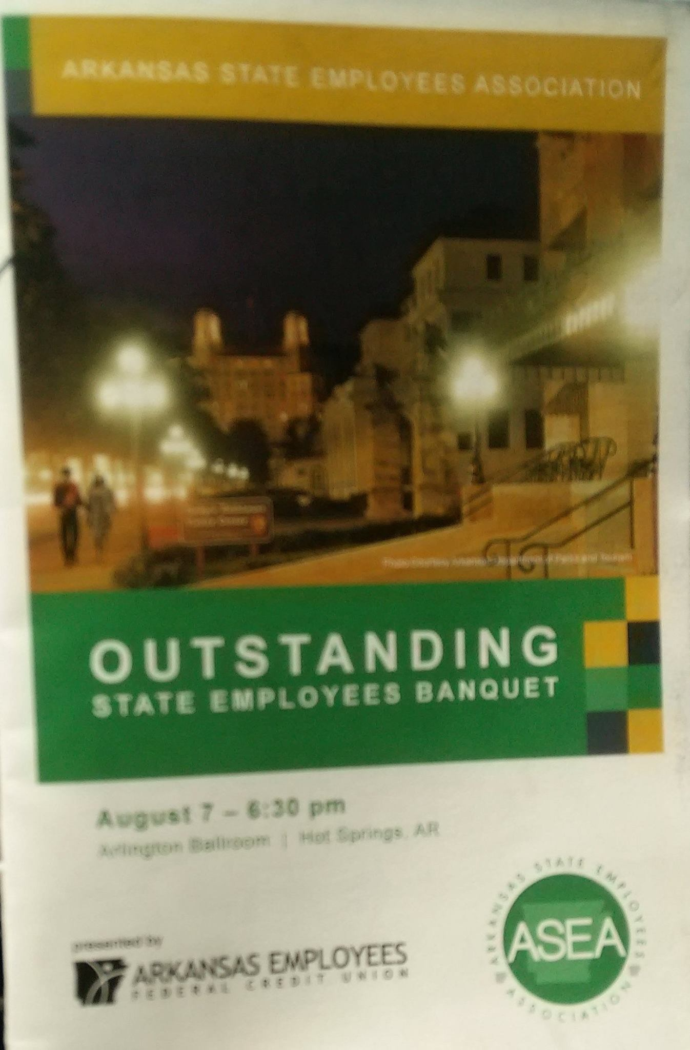 Outstanding Employee of the Year Program Cover